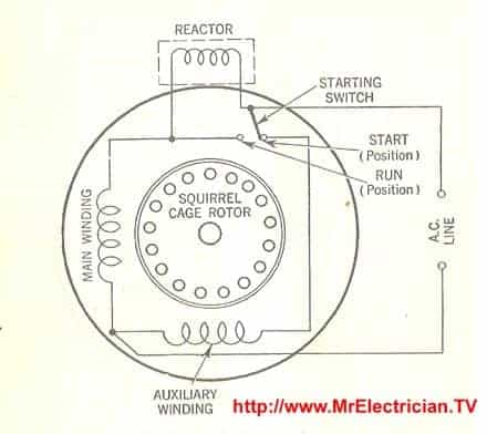 Part Winding Start Motor Wiring Diagram from mrelectrician.tv
